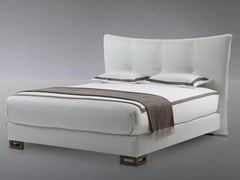 - High upholstered headboard for double bed STELLA - Treca Interiors Paris