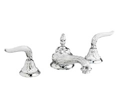 - 3 hole washbasin tap with individual rosettes 230001.B350.50 | Washbasin tap - Bronces Mestre