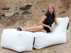 - Imitation leather garden footstool PLUS OUTSIDE - Pusku pusku