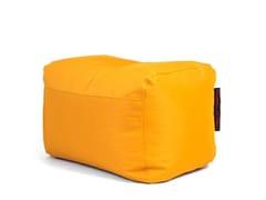 - Upholstered polyester pouf PLUS OX - Pusku pusku
