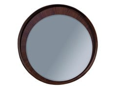 - Wall-mounted framed round mirror BEAUCHAMP | Mirror - Treca Interiors Paris