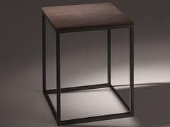 Sgabello per bagno in acciaio e legnoBETTELUX SHAPE | Sgabello per bagno - BETTE