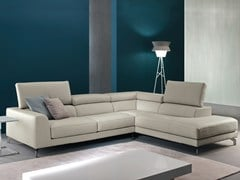 - Corner recliner sofa with electric motion ARENA - Divanidea