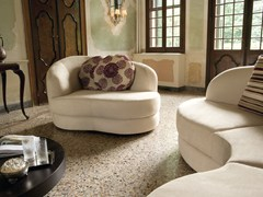 - Upholstered 2 seater sofa PIANO - Divanidea