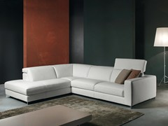 - Corner recliner sofa with electric motion PATIO - Divanidea