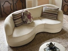 - Upholstered 3 seater sofa PIANO - Divanidea