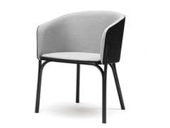 - Upholstered easy chair SPLIT | Easy chair - TON
