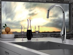 - Countertop kitchen mixer tap with swivel spout BK 72 2 | Kitchen mixer tap - Remer Rubinetterie