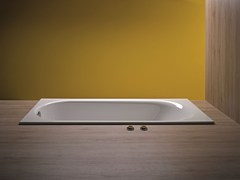 - Rectangular enamelled steel bathtub BETTECOMODO | Bathtub - Bette