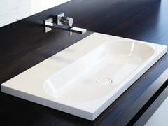 - Inset rectangular enamelled steel washbasin CENTRO | Inset washbasin - Kaldewei Italia