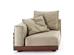 - Corner sectional upholstered armchair ASAMI IRON | Corner armchair - Colico