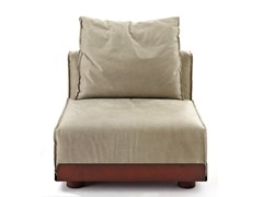 - Sectional upholstered fabric armchair ASAMI IRON | Armchair - Colico
