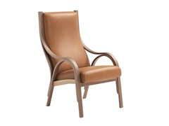 - Leather armchair CAVOUR | Armchair - Poltrona Frau