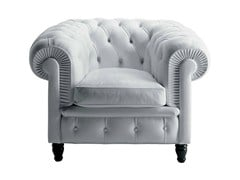 - Tufted armchair CHESTER | Armchair - Poltrona Frau