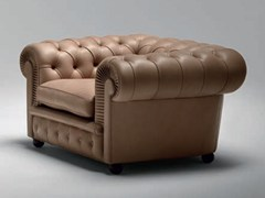 - Tufted armchair CHESTER ONE | Armchair - Poltrona Frau