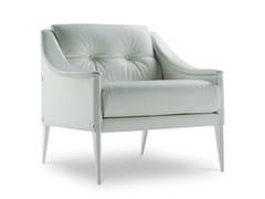 - Tufted leather armchair DEZZA | Tufted armchair - Poltrona Frau