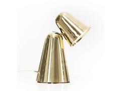 - LED adjustable brass table lamp PEPPONE | Brass table lamp - Formagenda