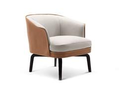 - Leather armchair NIVOLA | Armchair - Poltrona Frau