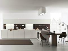- Acacia kitchen with peninsula AXIS 012 | Kitchen with peninsula - Zampieri Cucine
