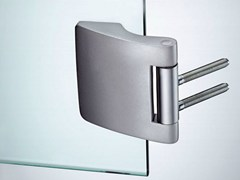 - Glass door hinge V-402 | Hinge - Metalglas Bonomi