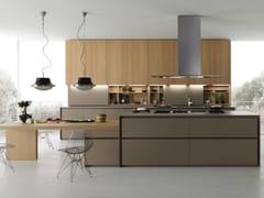 - Spruce kitchen with island AXIS 012 | Kitchen with island - Zampieri Cucine