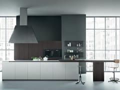 - Oak kitchen with island FIFTY | Composition 03 - Zampieri Cucine