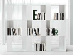 - Open freestanding bookcase LINE K | Bookcase - Zampieri Cucine