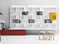 - Wall-mounted storage wall LINE K | Storage wall - Zampieri Cucine