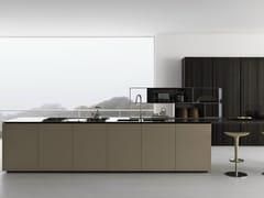 - Oak kitchen with island Y | Composition 03 - Zampieri Cucine