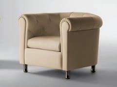 - Tufted armchair ARCADIA | Armchair - Poltrona Frau