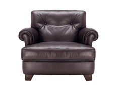 - Leather armchair DREAM ON | Armchair - Poltrona Frau