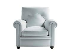 - Leather armchair EDOARDO | Armchair - Poltrona Frau