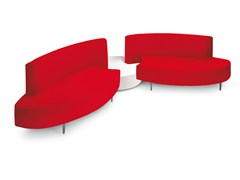 - 4 seater imitation leather sofa MERIDIAN | 4 seater sofa - OUTSIDER