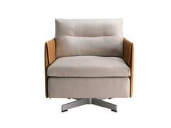 - Swivel armchair GRANTORINO | Armchair - Poltrona Frau