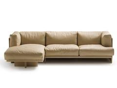 - Corner sofa POLO | Corner sofa - Poltrona Frau