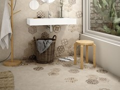 - Indoor/outdoor wall/floor tiles with concrete effect HEXATILE CEMENT | Wall/floor tiles - EQUIPE CERAMICAS
