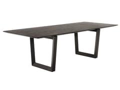 - Rectangular solid wood table BOLERO | Rectangular table - Poltrona Frau