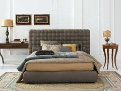 - Storage bed with tufted headboard CHOCOLAT | Storage bed - Twils