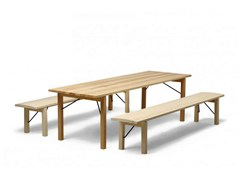 - Folding rectangular wooden table ARKITECTURE TJP3 | Table - Nikari