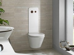 - Wall-hung ceramic toilet MOOD | Toilet - NOKEN DESIGN