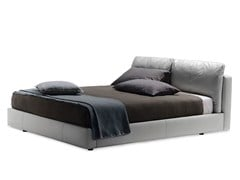 - Double bed MASSIMOSISTEMA BED - Poltrona Frau