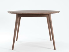 - Round teak garden table VINTAGE OUTDOOR | Garden table - KARPENTER