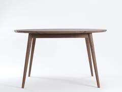 - Teak garden table VINTAGE OUTDOOR   Round table - KARPENTER