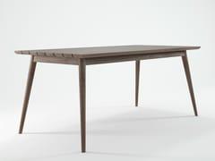 - Rectangular teak garden table VINTAGE OUTDOOR   Rectangular table - KARPENTER