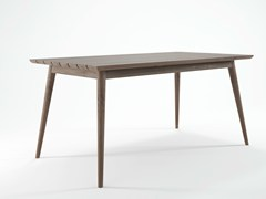 - Teak garden table VINTAGE OUTDOOR   Wooden table - KARPENTER