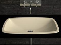 - Inset rectangular washbasin OPEN | Inset washbasin - Glass Design