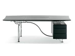 - Executive desk CORINTHIA DESK - Poltrona Frau