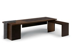 - Executive desk H_O DESK - Poltrona Frau