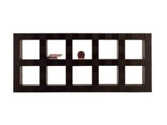 - Wooden office shelving H_O CABINET | Office shelving - Poltrona Frau