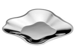 - Stainless steel serving bowl ALVAR AALTO | Stainless steel serving bowl - iittala